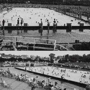 Zwembad de Vliet in de jaren '60