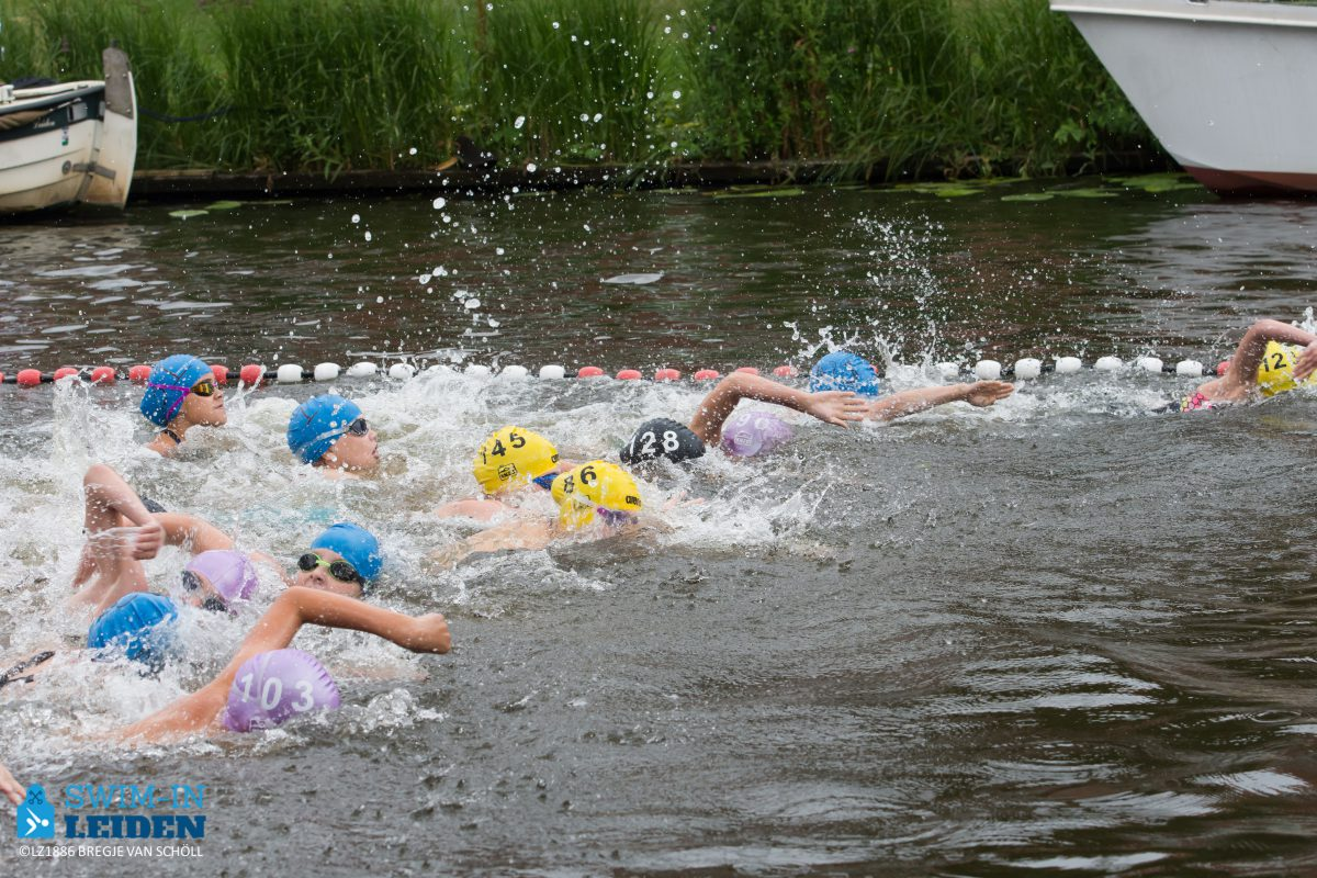 9e Speedo Swim-in Leiden in Huigpark